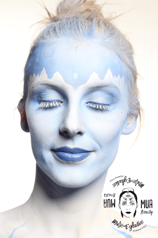 Icequeen - Zoom sur le visage