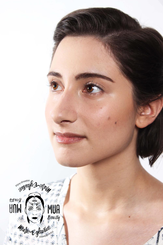 Maquillage effet pas maquillée