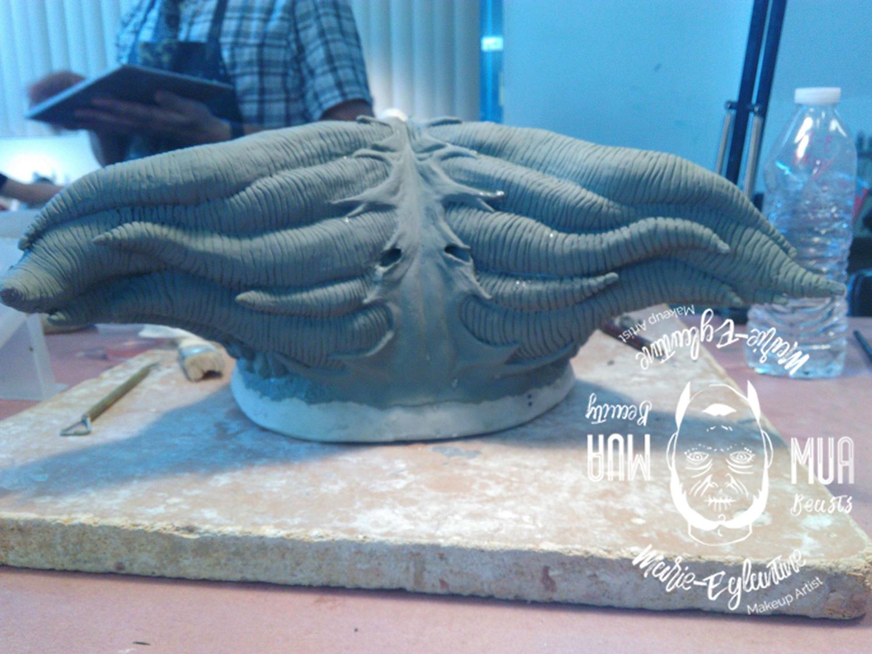 Sculpture etape 7