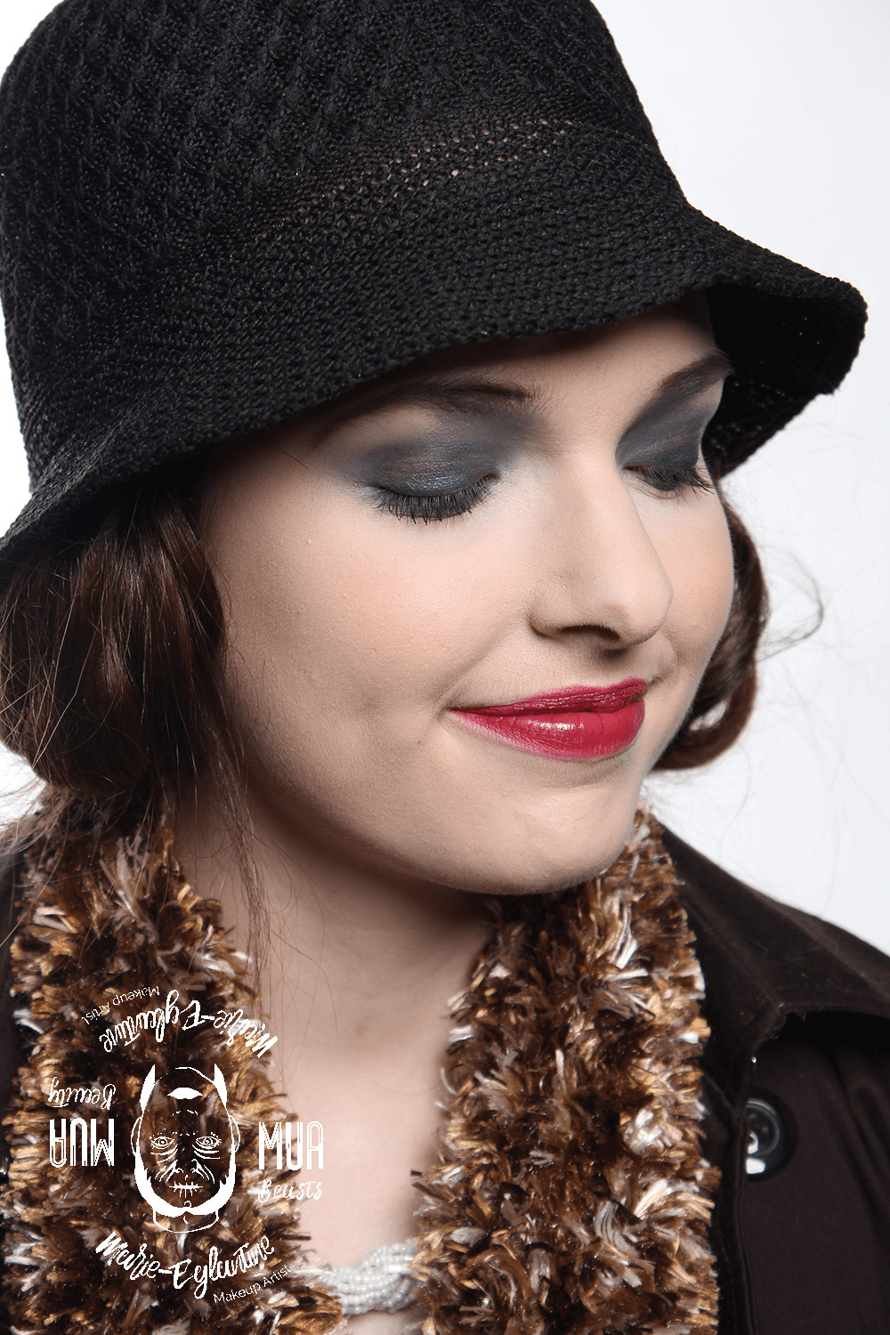 Maquillage style années 1920