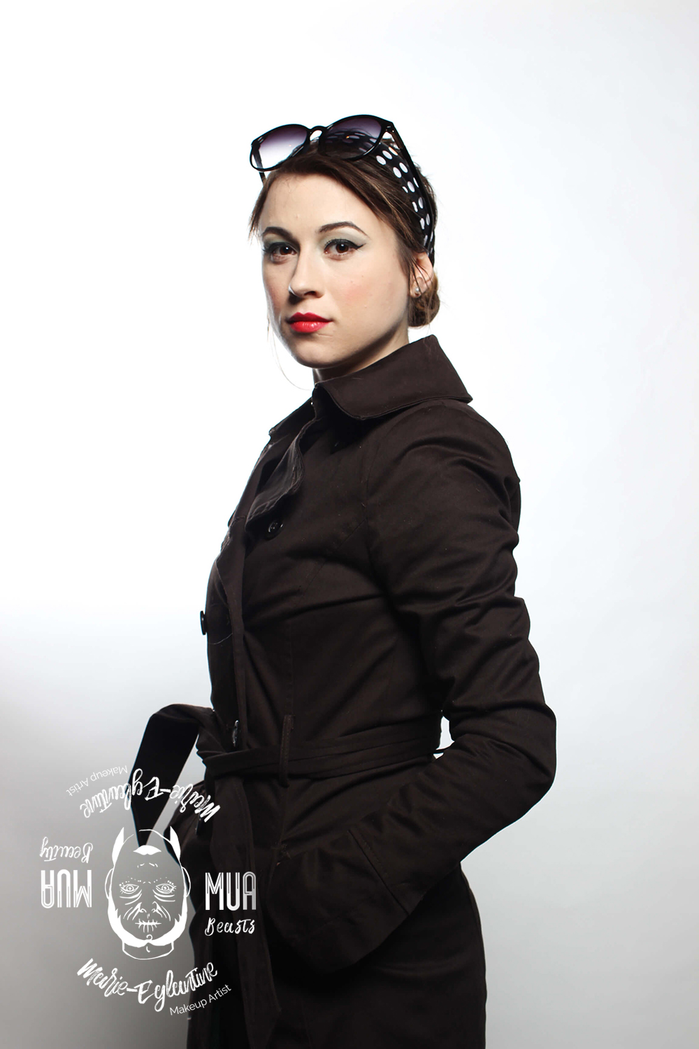 Makeup style 40's