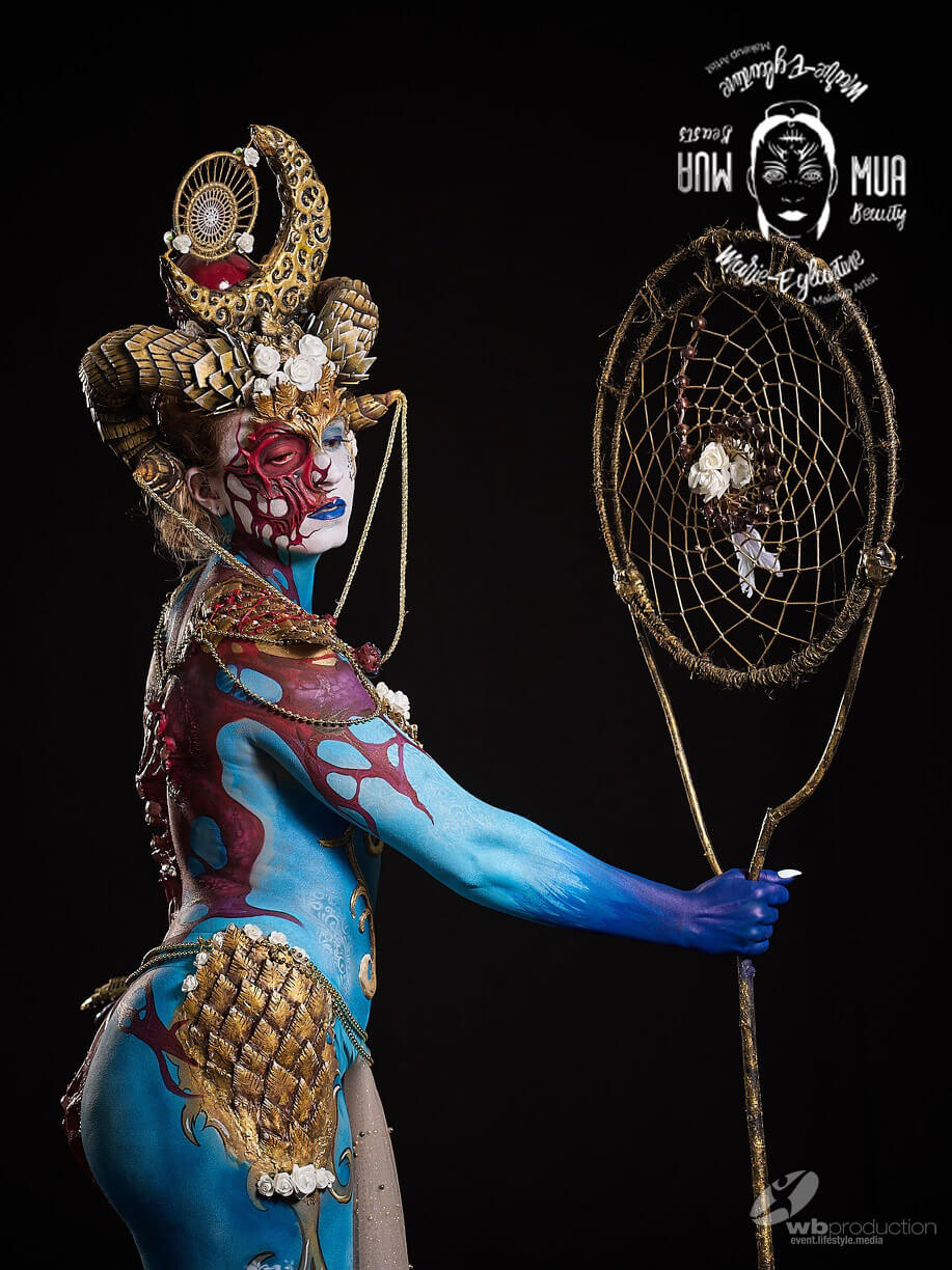 Bodypainting at the WBF2018